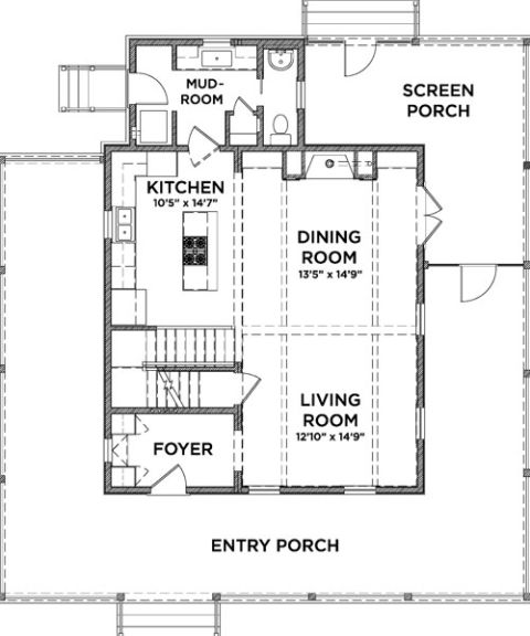Small Eco House Floor Plans House Design Plans
