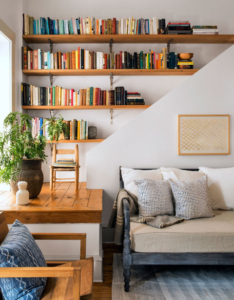 bookshelf ideas how to arrange bookshelves. Black Bedroom Furniture Sets. Home Design Ideas