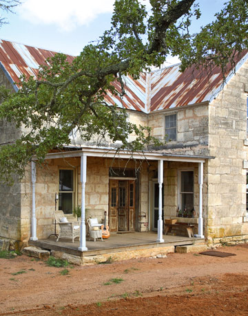 Home renovation ideas texas hill country home for Texas stone house plans