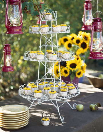 country sunflower tables outdoor party decoration ideas summer party decorating
