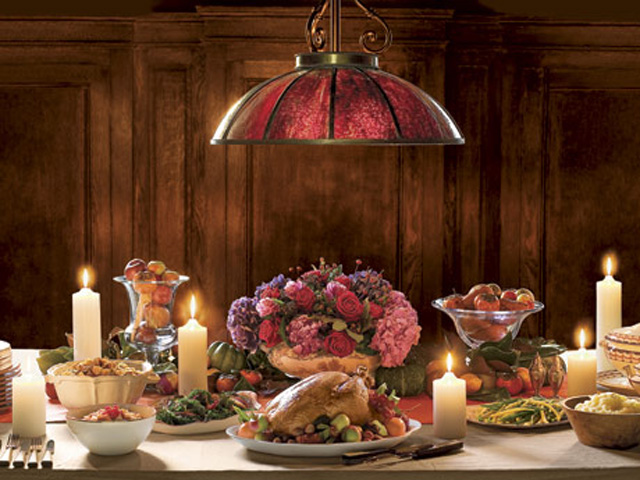 setting a table for thanksgiving dinner | My Web Value