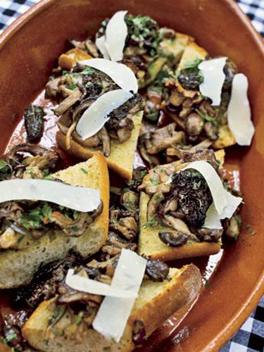 Pea-and-Feta Crostini recommend