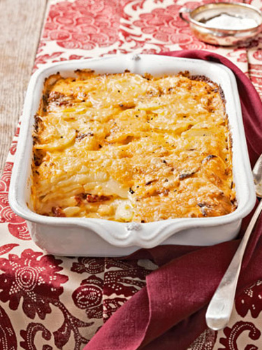 Pimento-Cheese Potato Gratin Recipe — Dishmaps