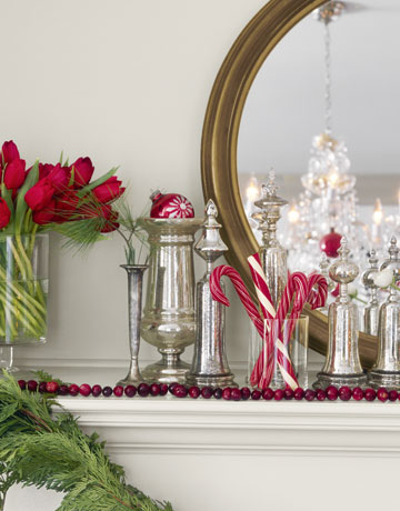 Holiday Decorating with Christmas Ornaments