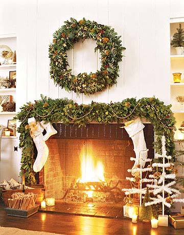 55 Christmas Garland Ideas Decorating with Holiday Garlands