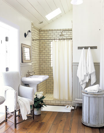 White Rustic Bathroom 37 rustic bathroom decor ideas - rustic modern bathroom designs
