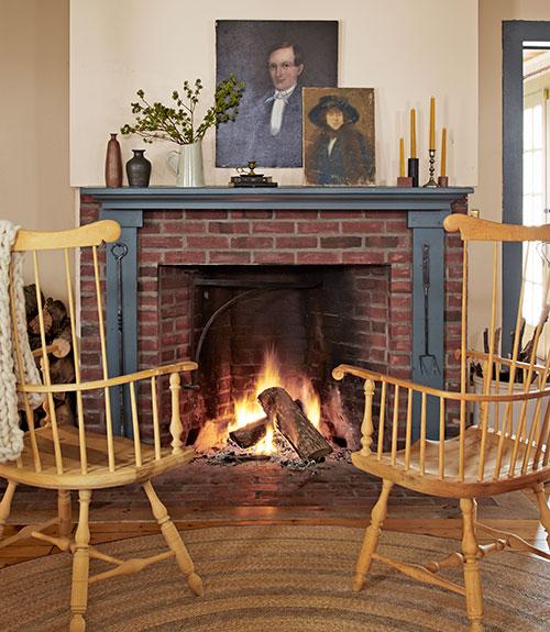 Fireplace designs fireplace photos for Open fireplace ideas
