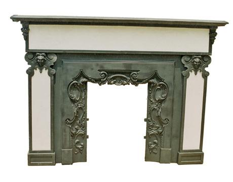 Cast-Iron Fireplace Mantel - Antique Appraisal