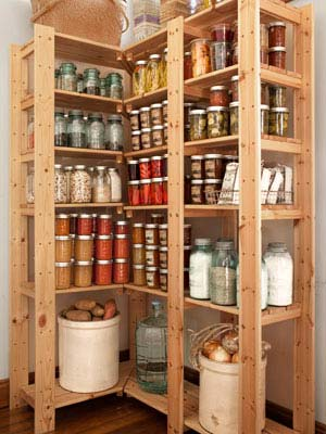 Kitchen Closet Shelving Ideas Diy