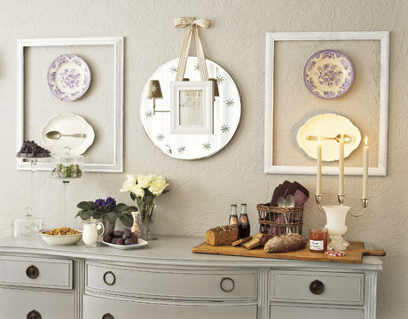Diy Design Ideas diy photo wall d cor idea Inexpensive Decorating Ideas How To Decorate On A Budget