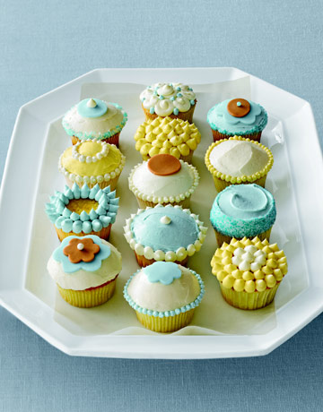 26 Cupcake Decorating Ideas - Recipes for Homemade Cupcakes