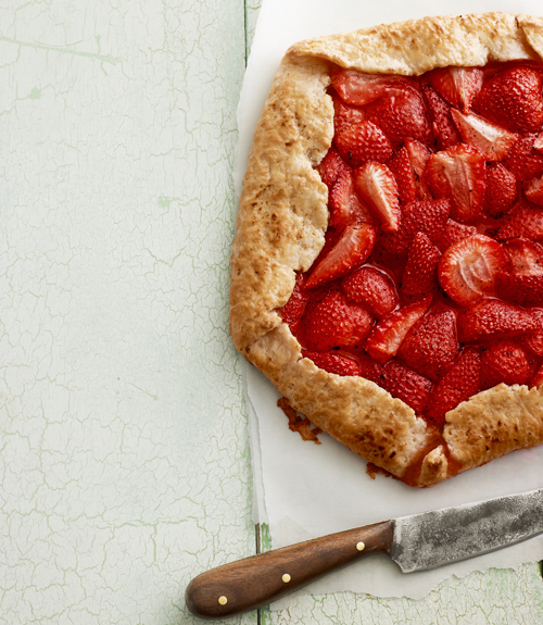 Rustic Strawberry Galette Recipe