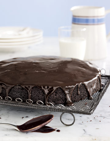 Simplest recipe for chocolate cake