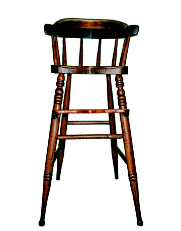 wood high chair antique high chairs wooden
