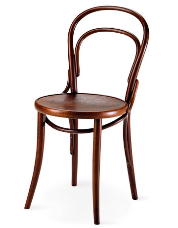 Classic bentwood chairs contemporary wood side chairs for Chaise bentwood