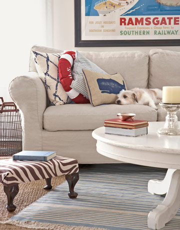nautical living room - Nautical Design Ideas