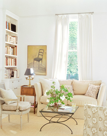 neutral color living room