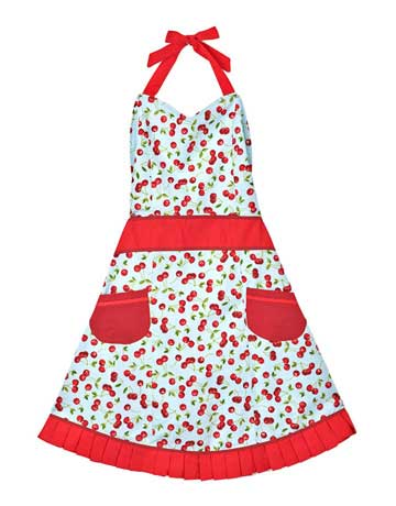 Aprons for women pretty grilling aprons for Apron designs and kitchen apron styles