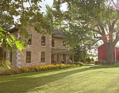 Wisconsin home tour decorating a farmhouse for Farmhouse brick