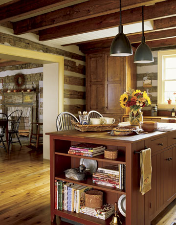 country kitchen with lights over island & Lighting and Windows - Tips for Lighting and Windows in Kitchen azcodes.com