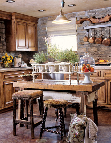 Country Kitchen Floors walls and floors - kitchen wall and flooring ideas