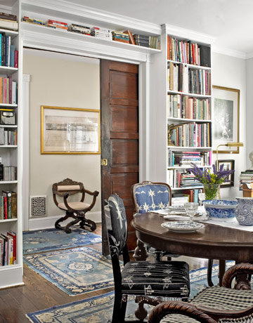 library and dining room. Antique Home Decor   Antique Decorating Ideas