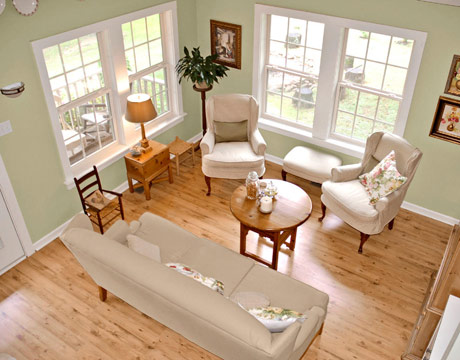 Bungalow design pictures decorating ideas for a bungalow for Small country living room ideas