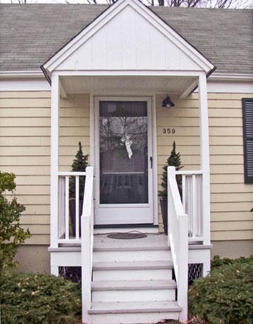 Plain Front Door