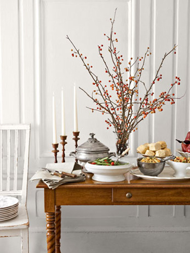 Fall buffet table designed by Sweet Paul  ||  Friday Favorites at www.andersonandgrant.com