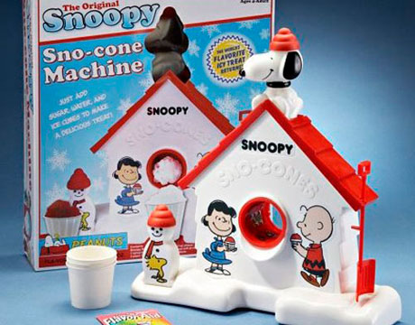Snoopy Sno Cone Machine Gifts For Kids