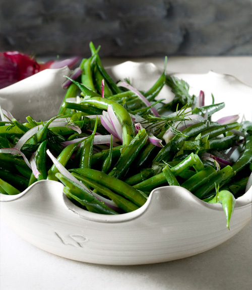 Green Bean Salad With Red Onions Recipe