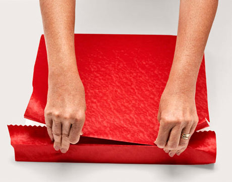 how to wrap a gift wrapping a present step by step instructions with