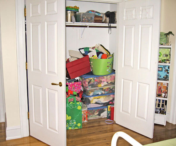 Sensational How To Turn A Closet Into An Office Closet Makeover Largest Home Design Picture Inspirations Pitcheantrous