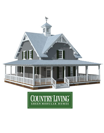 country living green modular homes