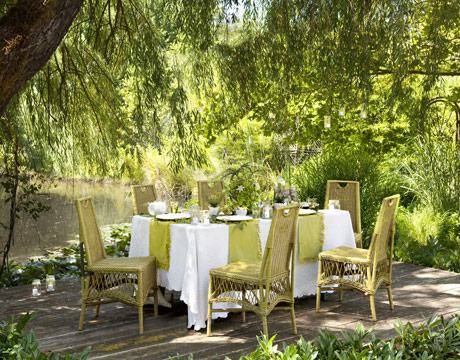outdoor dinner party decorations - ideas for decorating for
