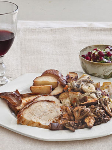 turkey breast spice rubbed roast turkey recipe martha stewart spice ...