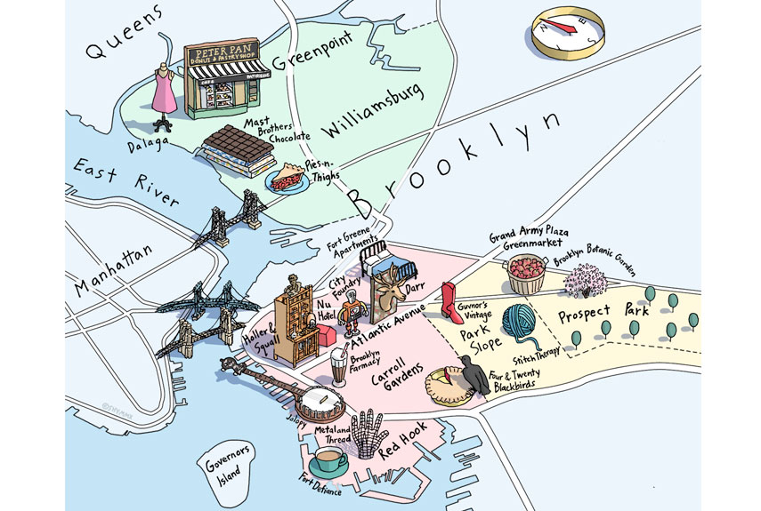 Things to do in brooklyn best restaurants and stores in for Things to do with kids in manhattan