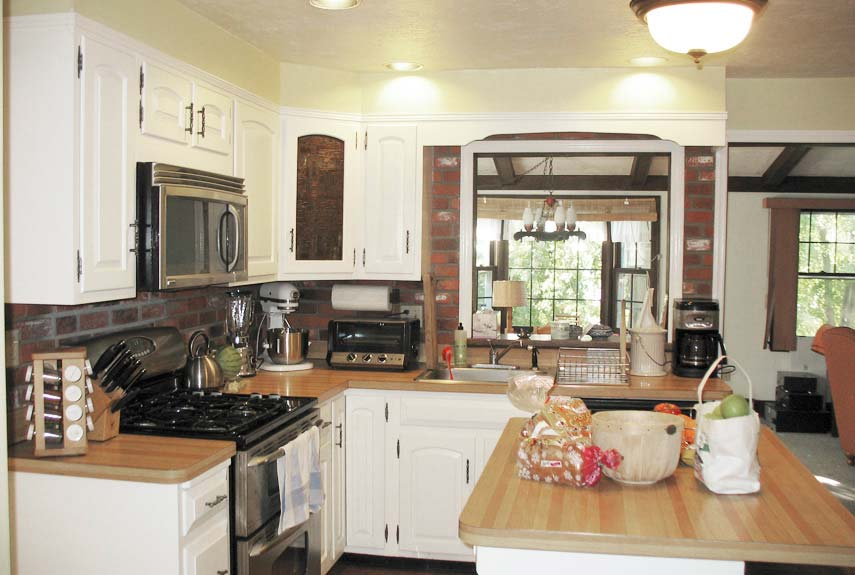Kitchen Before And After 22 kitchen makeover before & afters - kitchen remodeling ideas