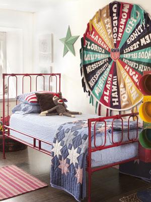 Americana Bedroom Decor