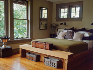 decorating with green  ideas for green rooms and home decor, Bedroom decor