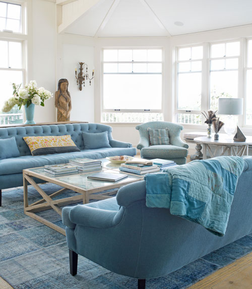 Beach house decorating beach home decor for Beach house living room ideas