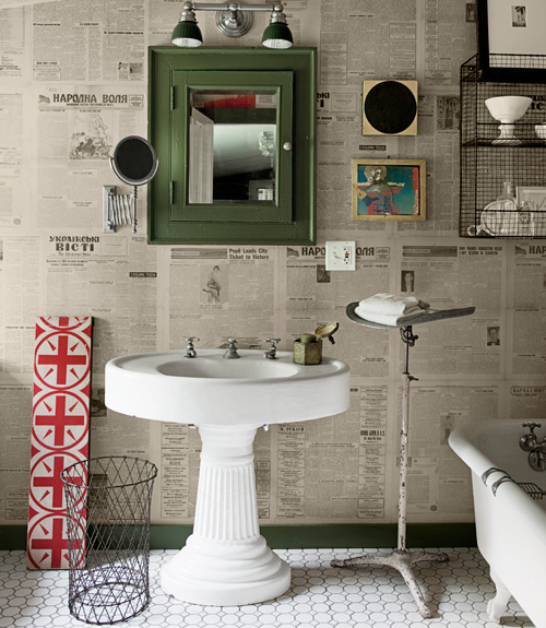 New uses for old things sean scherer antique decorating - New uses for old things ...