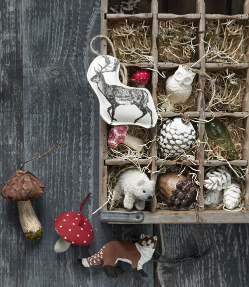 Rustic Christmas Decorating Ideas - Woodland Christmas Ideas