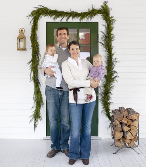 Country Farmhouse Christmas - White Christmas Decor Ideas