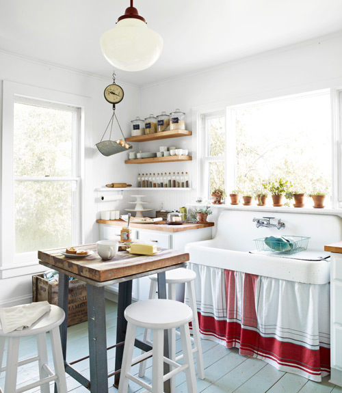 Cozy kitchens how to make your kitchen cozy for Country living kitchen designs