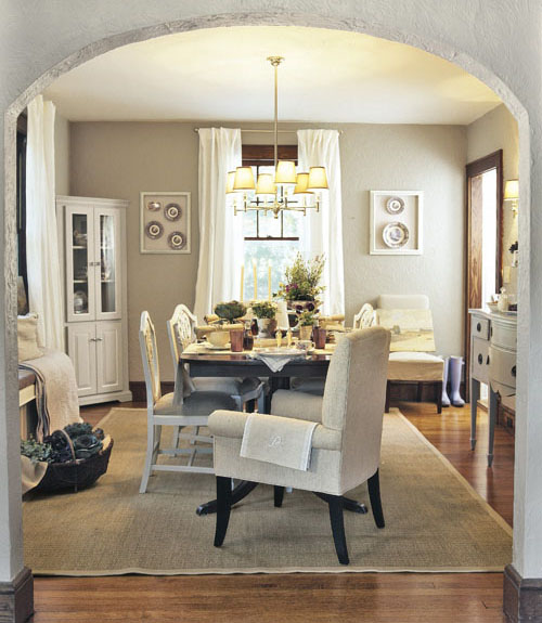 dining room makeovers - easy makeover ideas for dining rooms