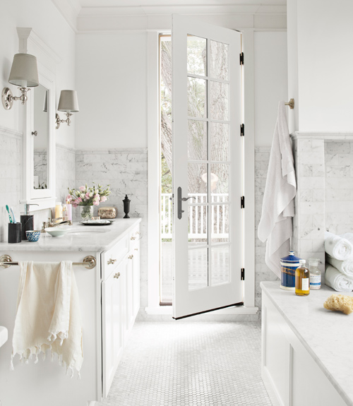 All White Bathroom 30 white bathroom ideas - decorating with white for bathrooms