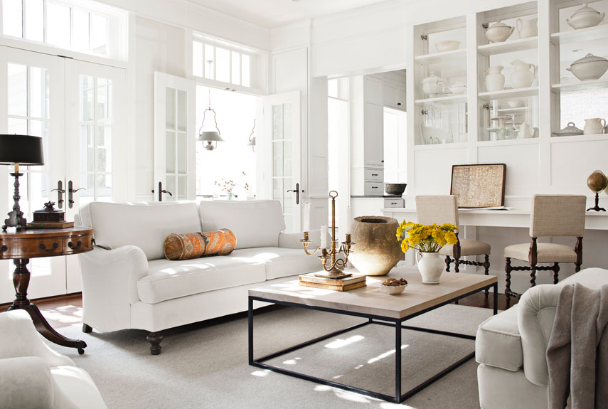 25+ white living room decor - ideas for white living room decorating