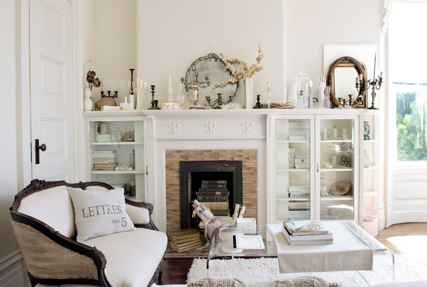 Decorating Ideas For Country Living Rooms 30 white living room decor - ideas for white living room decorating