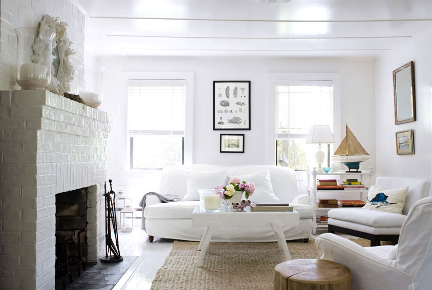 . 30 White Living Room Decor   Ideas for White Living Room Decorating
